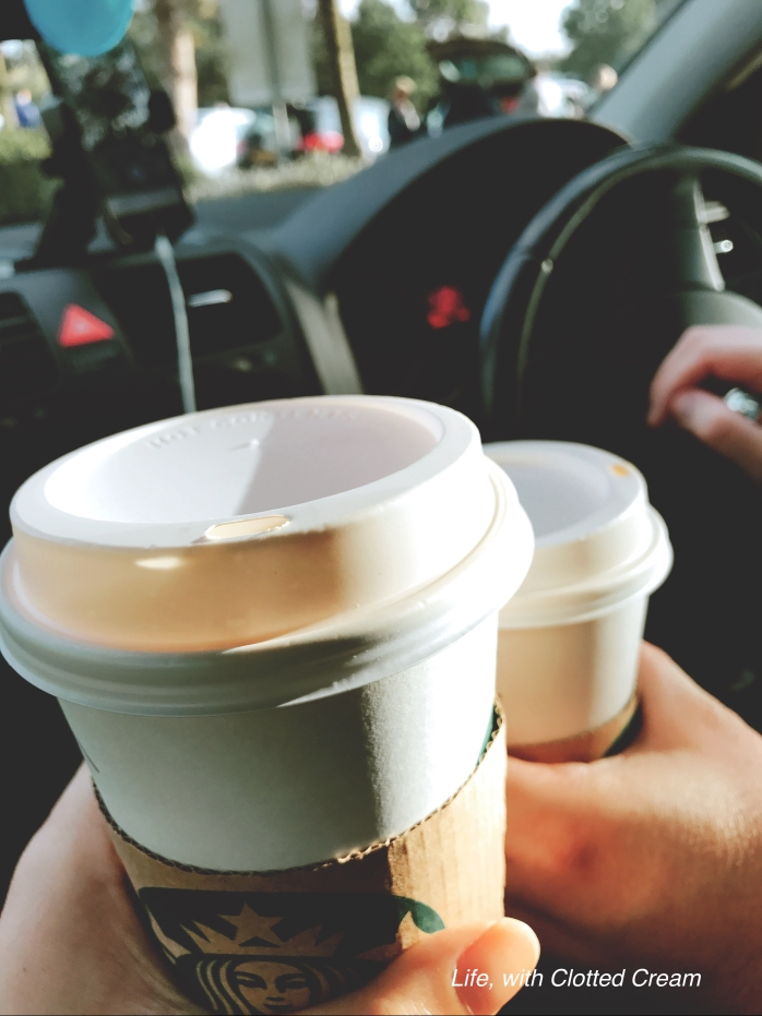 Pumpkin Spice Latte for the road