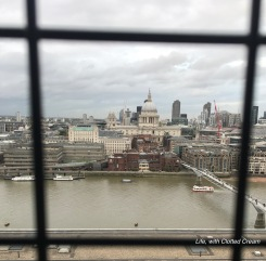 View of St Paul's from Tate Modern