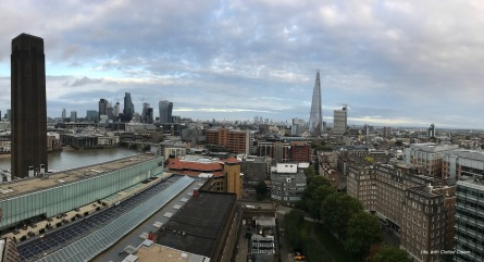 London skyline from Tate Modern