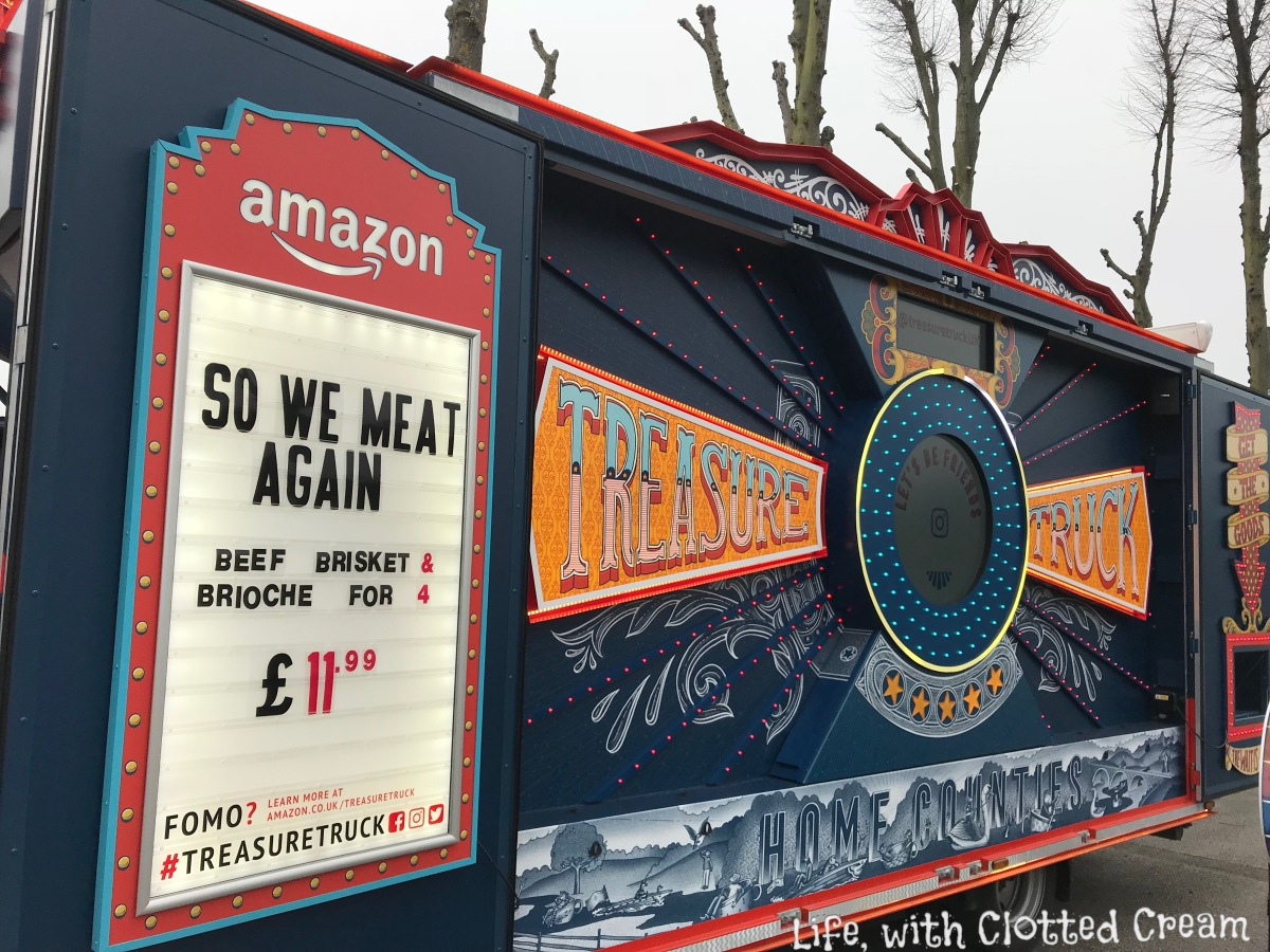 Amazon treasure truck with beef brisket