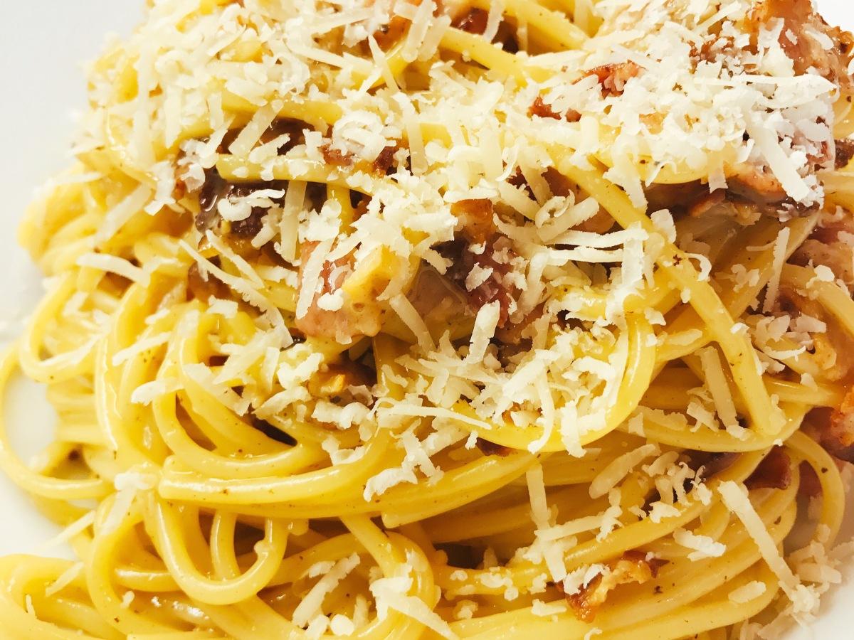 Unconventional Spaghetti Carbonara