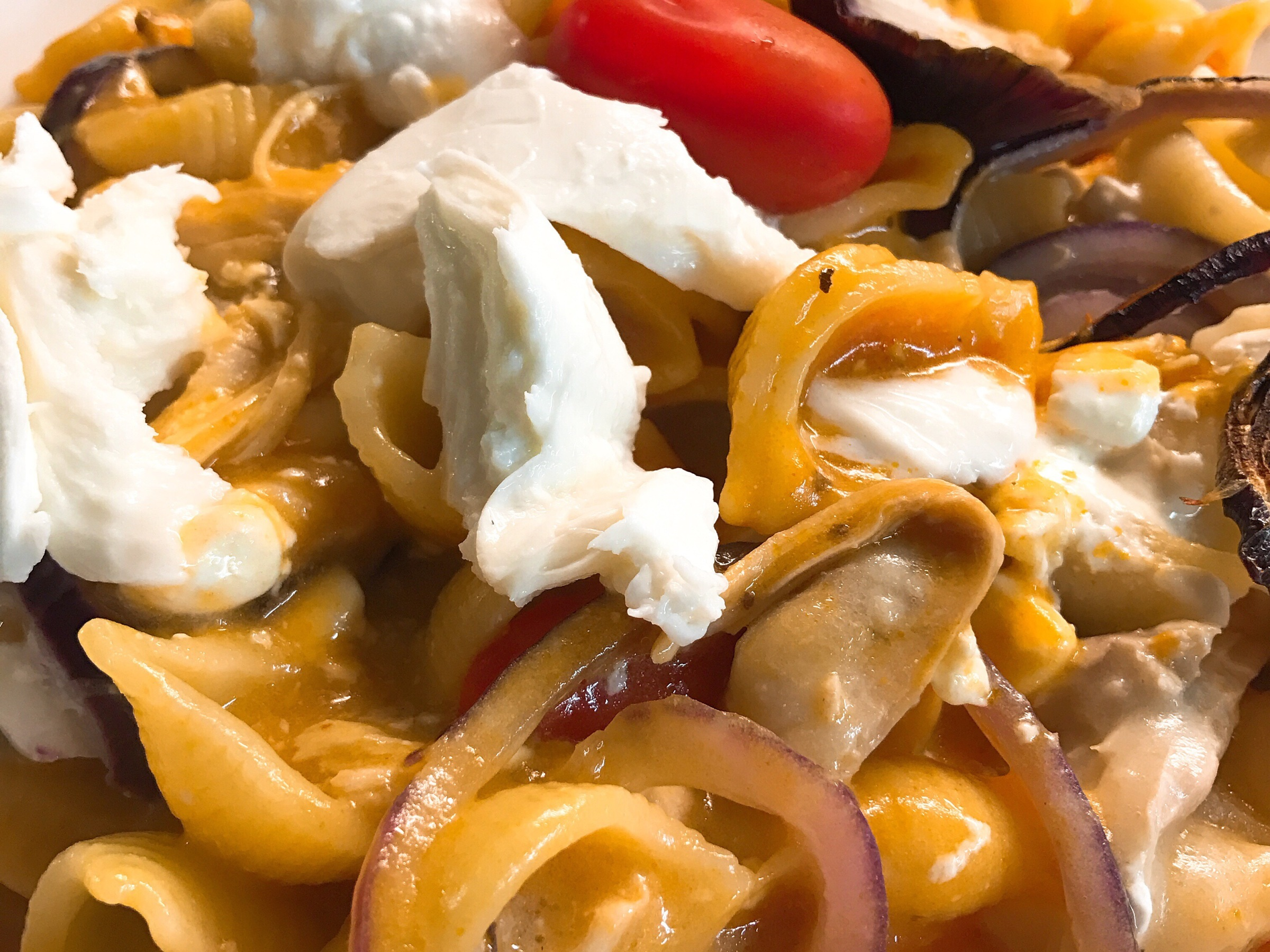 Chicken pasta bake with Cream of Tomato Soup