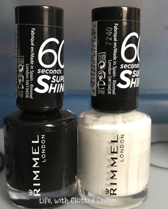 Rimmel black and white