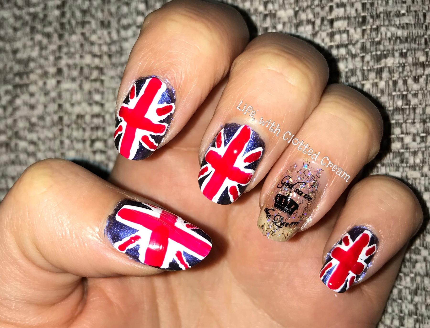 Royal Wedding Nail art
