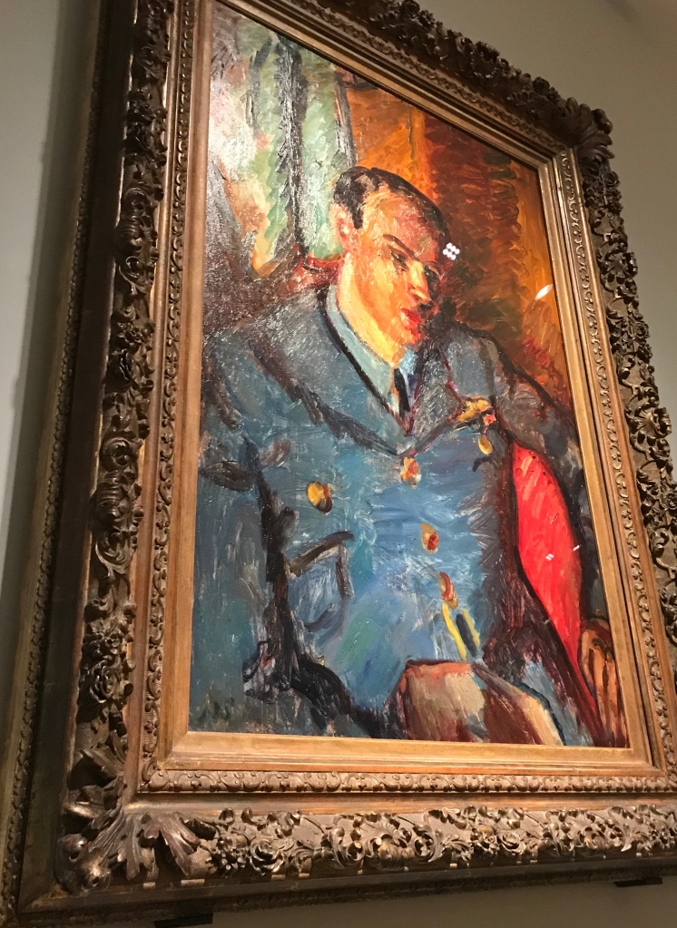 Roald Dahl portrait by Sir Matthew Smith