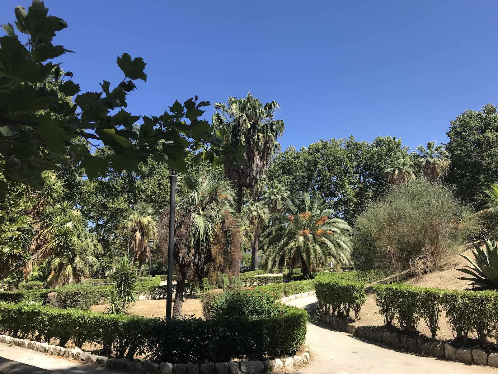 Garden in Palermo