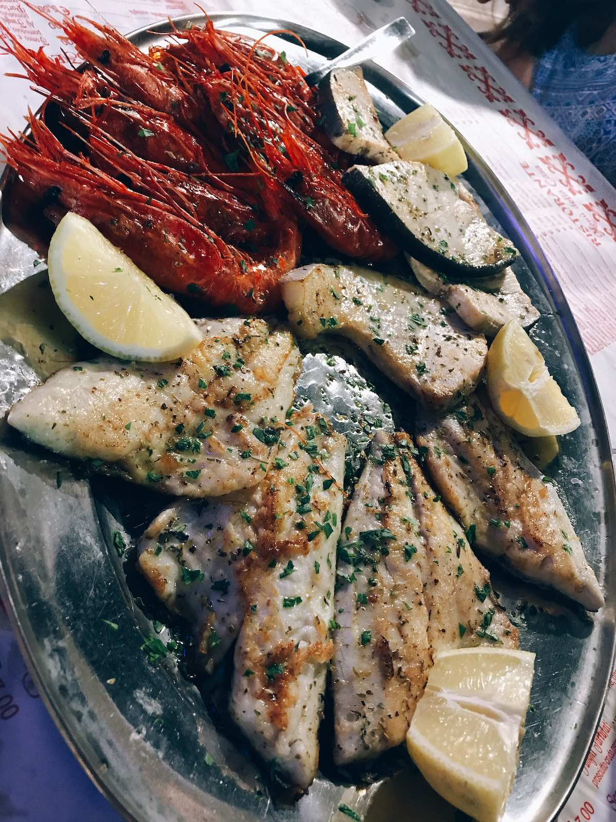 Seafood Secondi