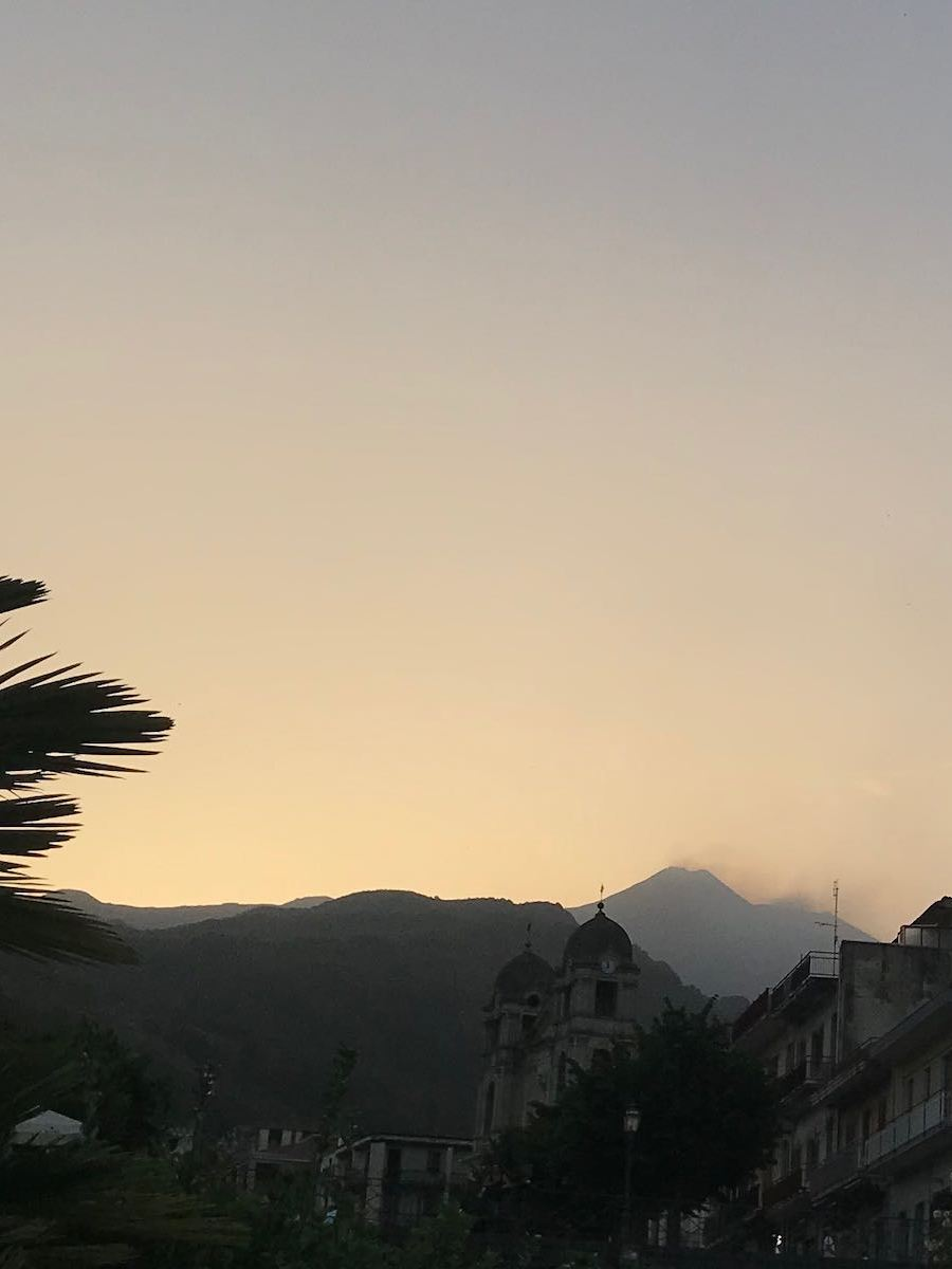Mount Etna in all her glory