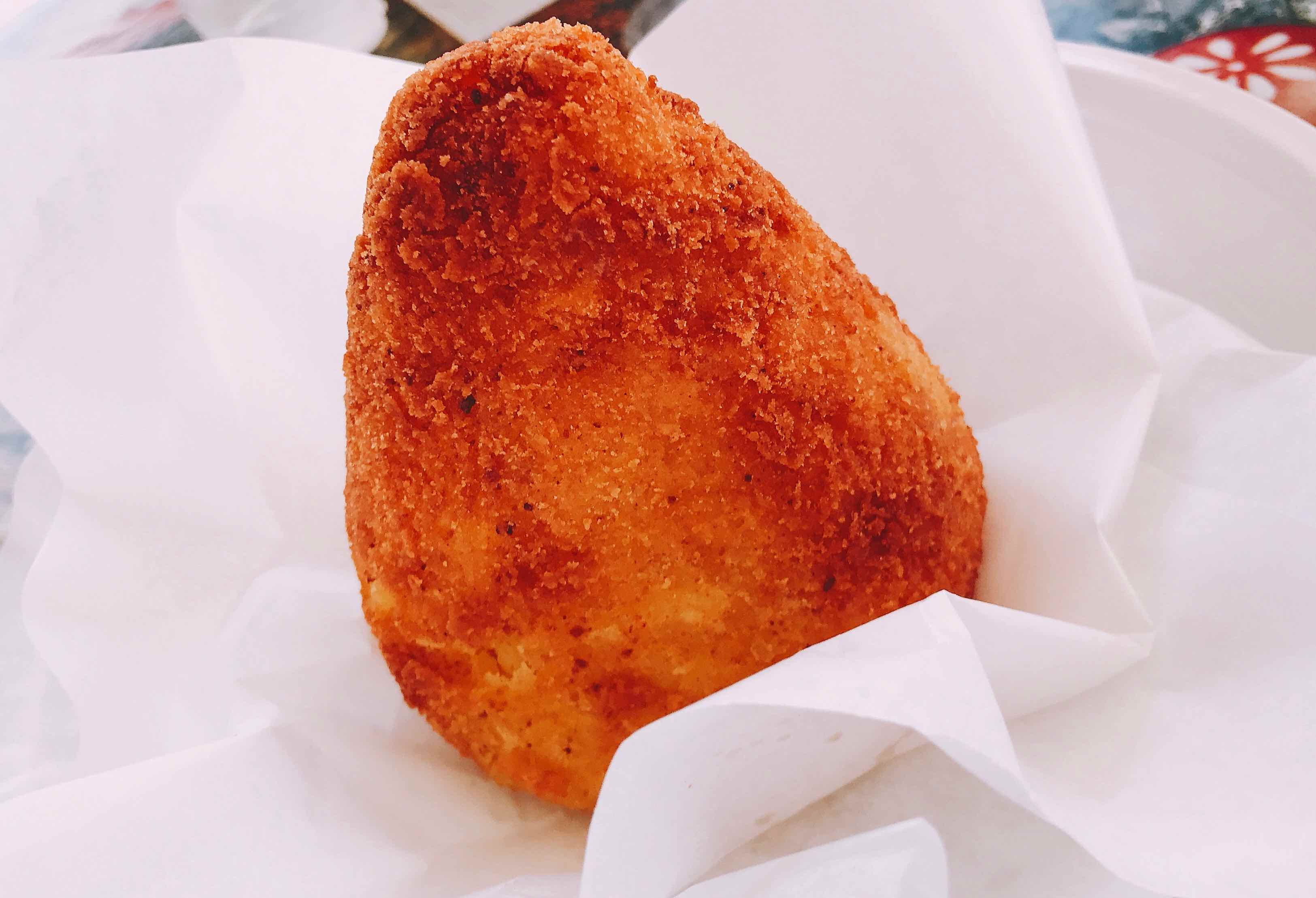 Pear shaped arancini