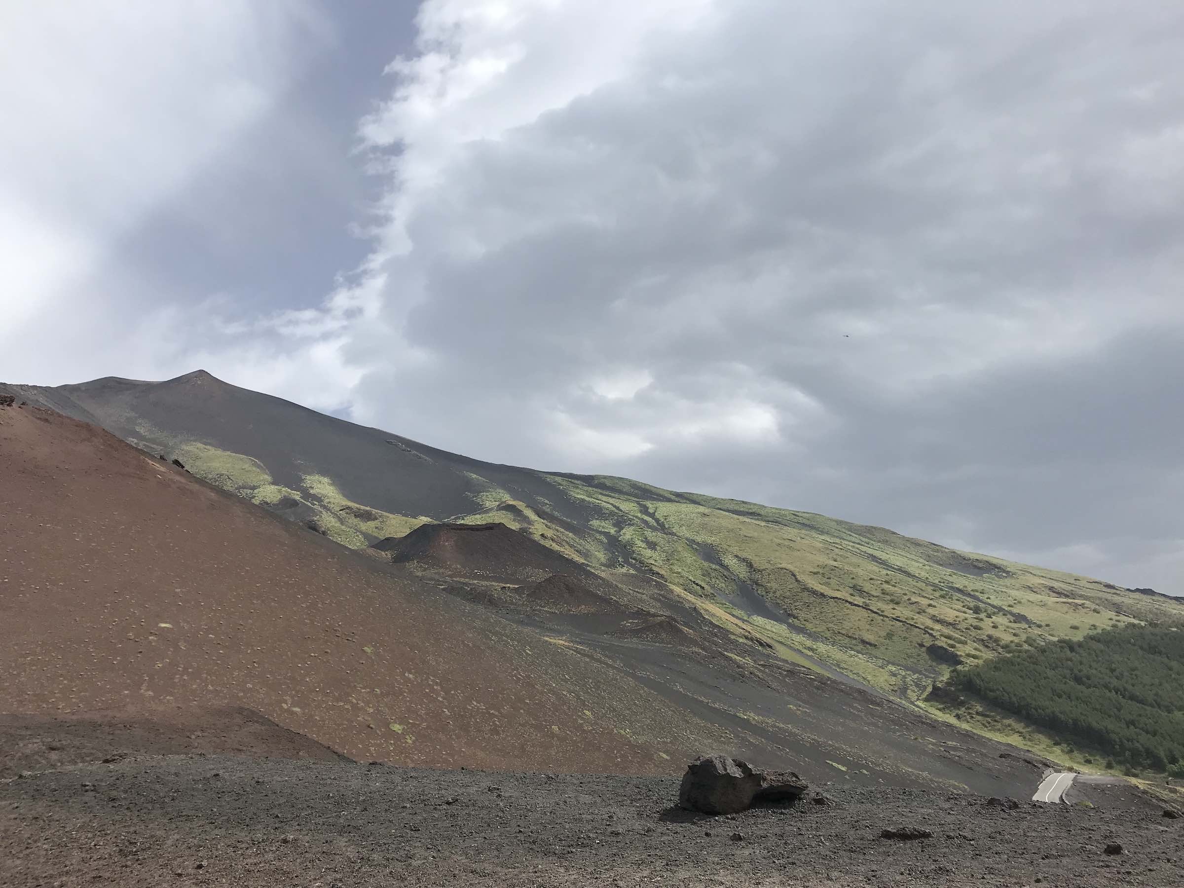 Beautiful view from the Silvestri Craters