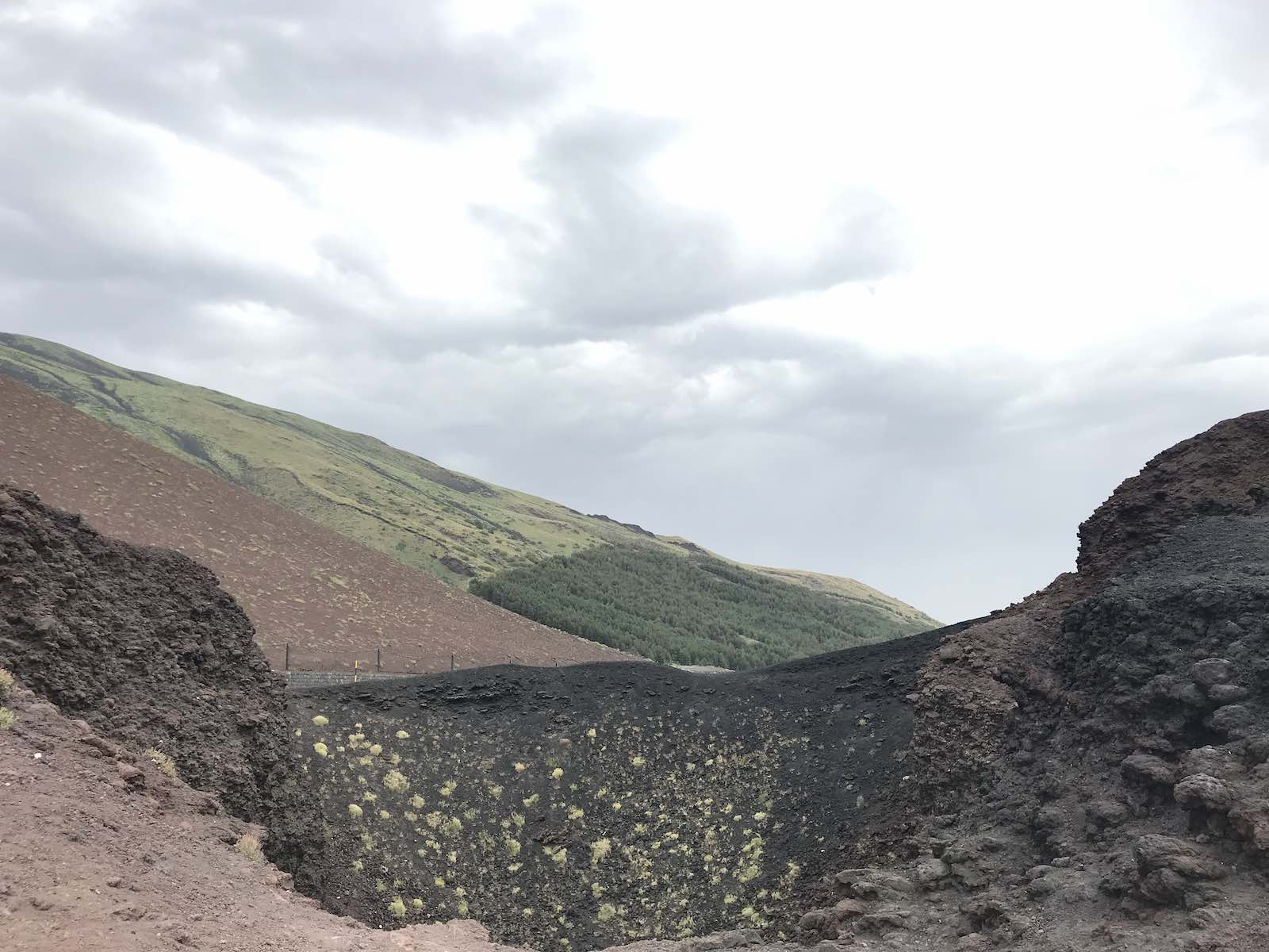 Exploring the craters at Silvestri