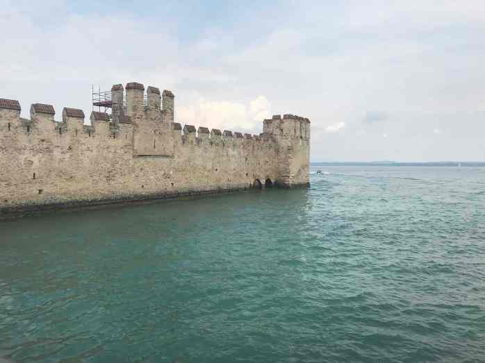 Castle outside Sirmione