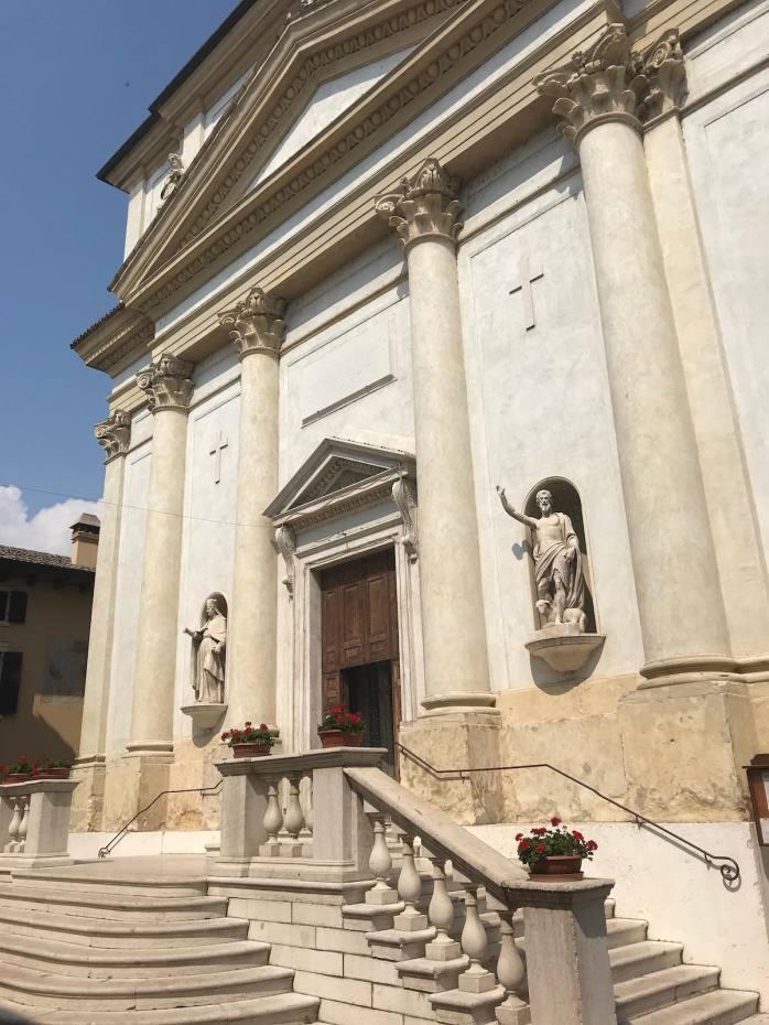 Church steps in Lazise