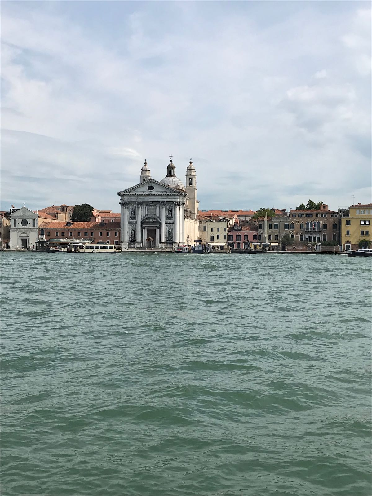 View of Venice from the water