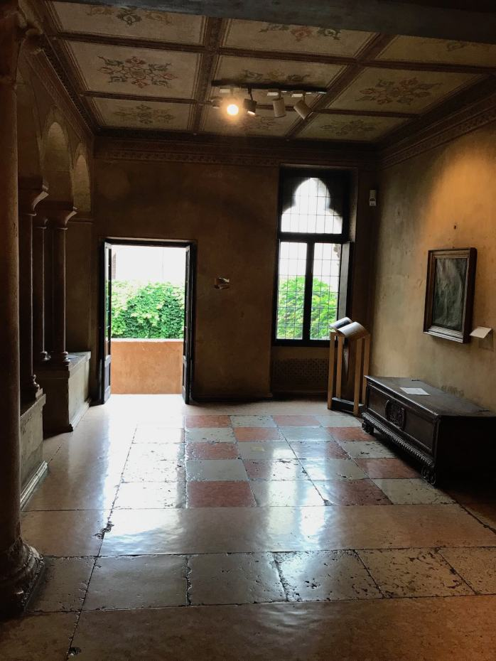 Juliet's room in Verona