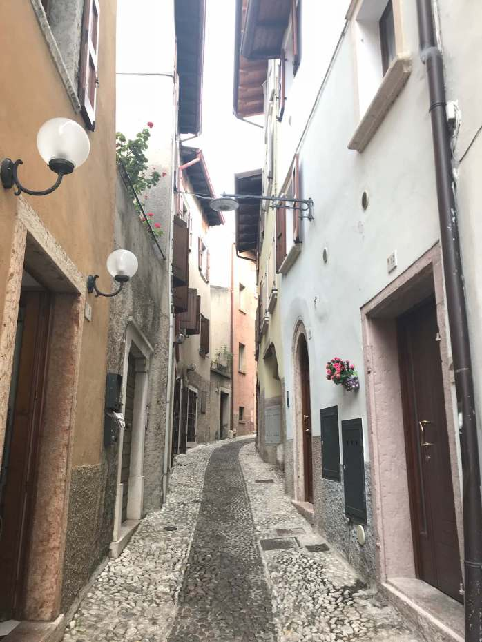 Small and Narrow street in Malcesine