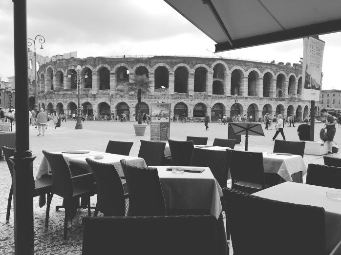View of Colloseum in Verona
