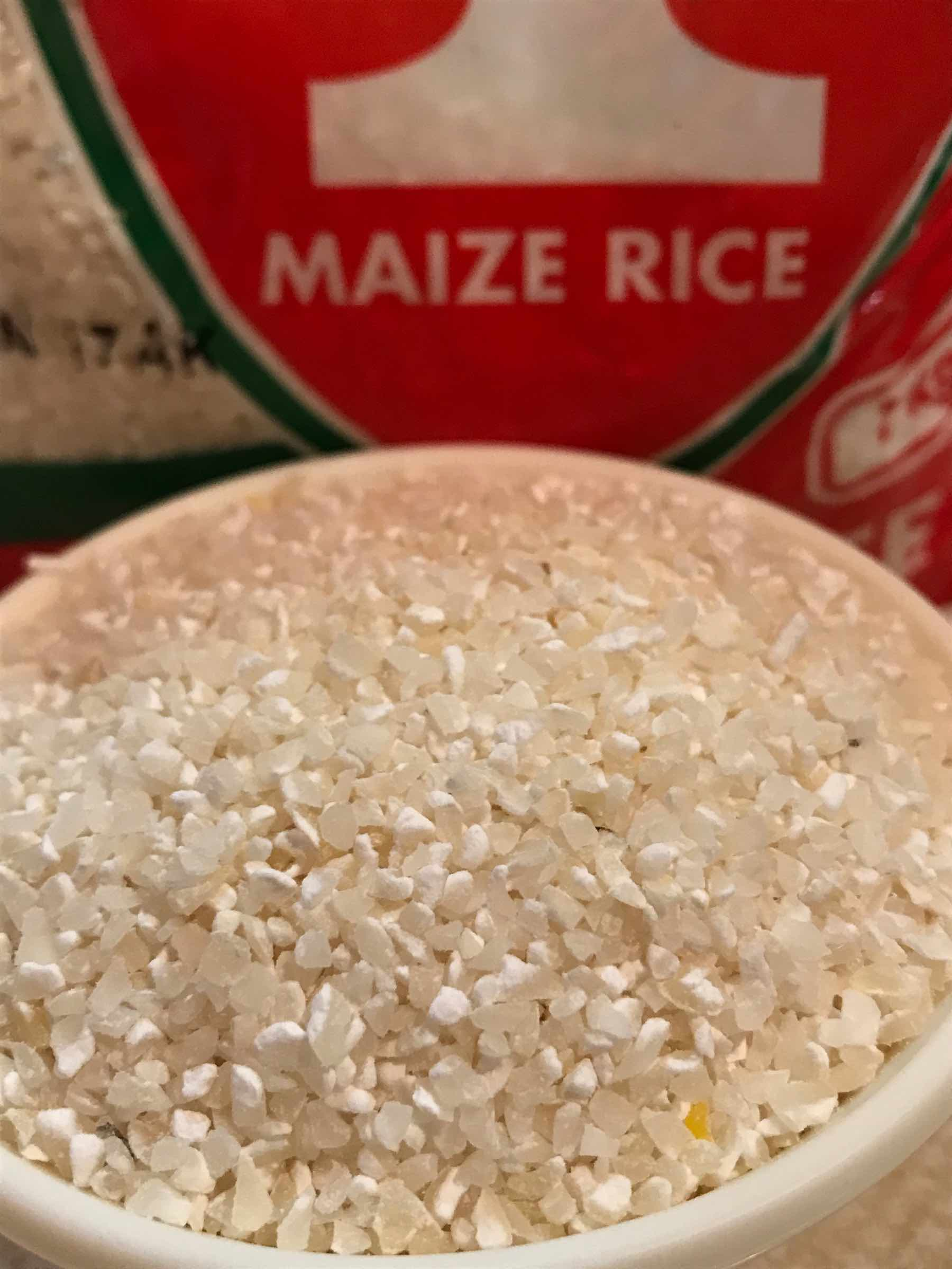 Maize Rice Recipe