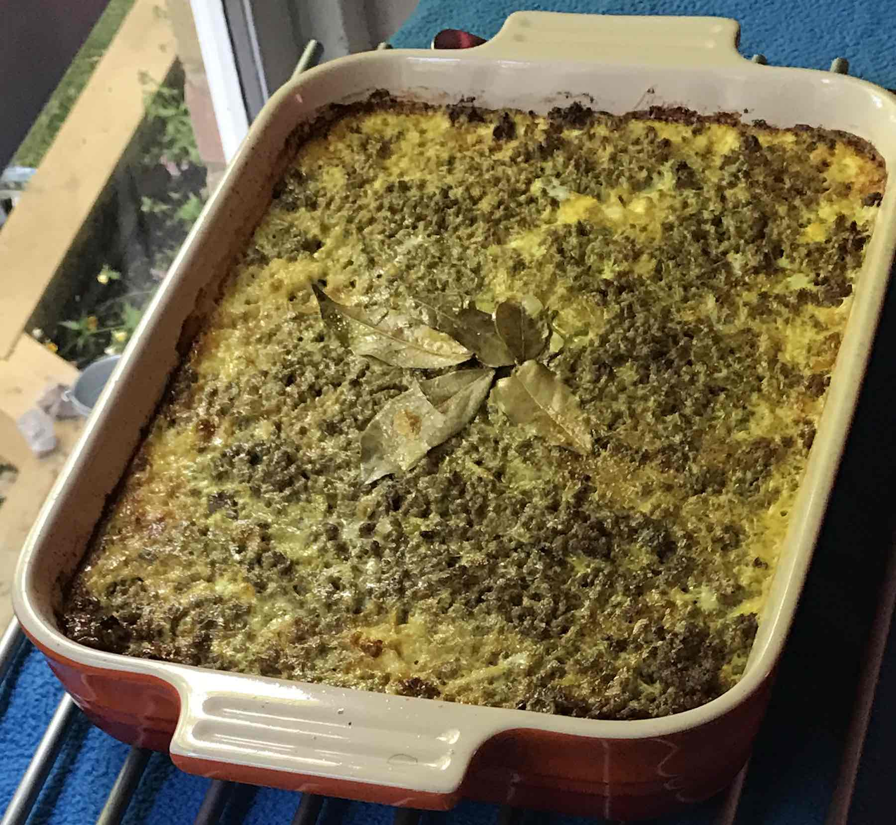 Traditional South African Bobotie With Yellow Rice Life With Clotted Cream